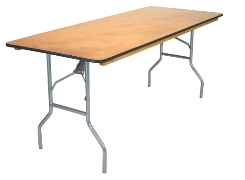 Table rentals in mobile al rent tables in pensacola fl for Folding table 6 x 4