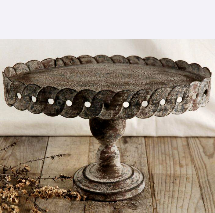 Rustic Cake Stand Rentals