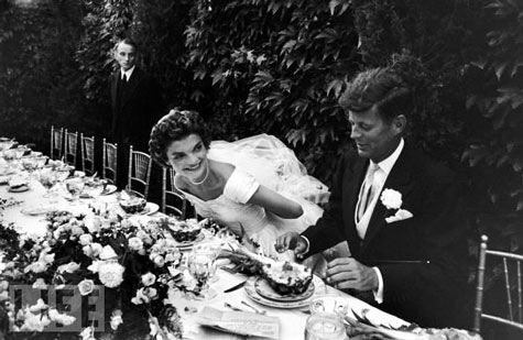 Even the Kennedy's had chiavari chairs at their wedding.