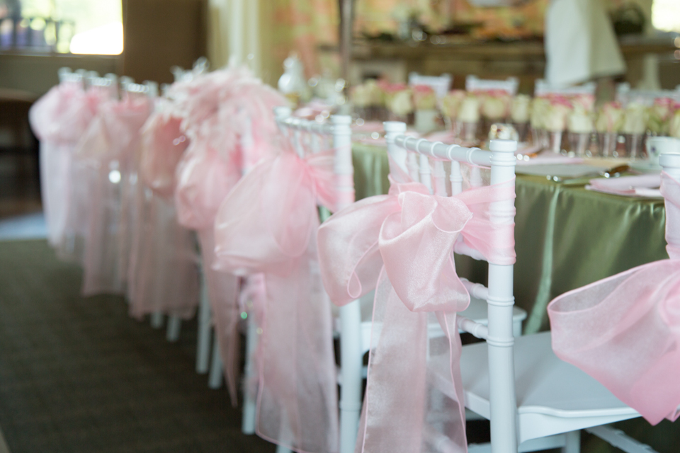 Kids White Chiavari Chairs Used For A Girls Tea Party Birthday