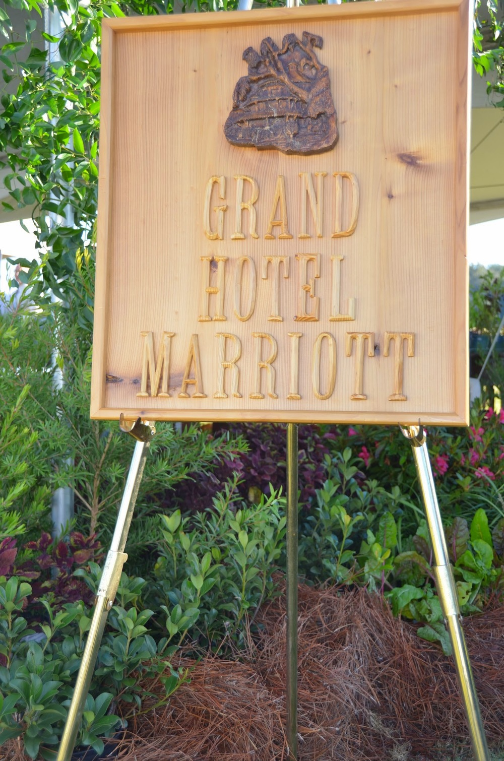Grand Hotel Marriott sign