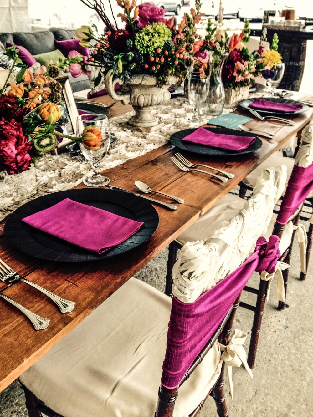 Farm Table Chiavari Chair
