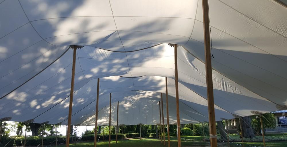Sailcloth Tent Rental