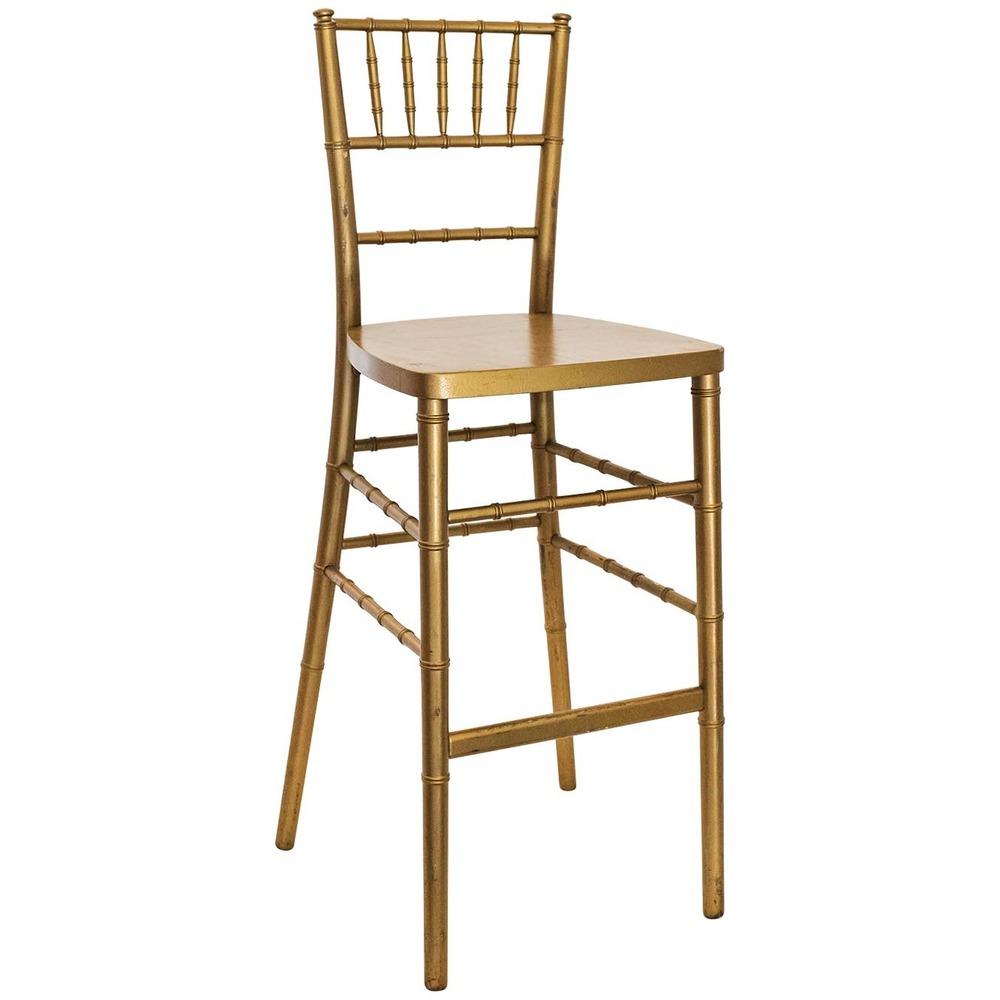 Gold chiavari chair - Gold Chiavari Barstool