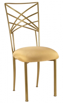 Gold cushion front