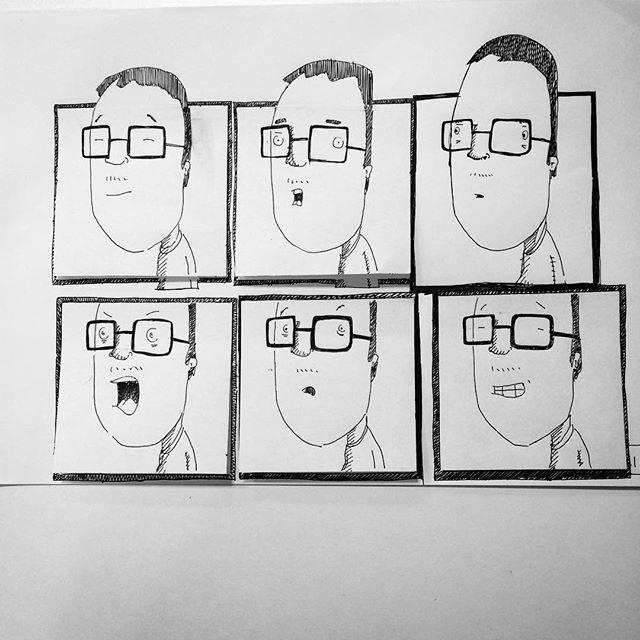 #sketches #faces