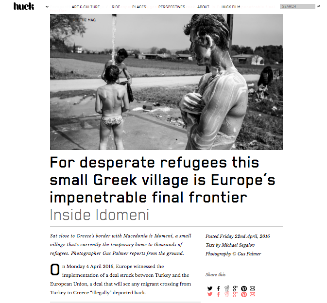 Europe's final frontier - HUCK Magazine April 2016