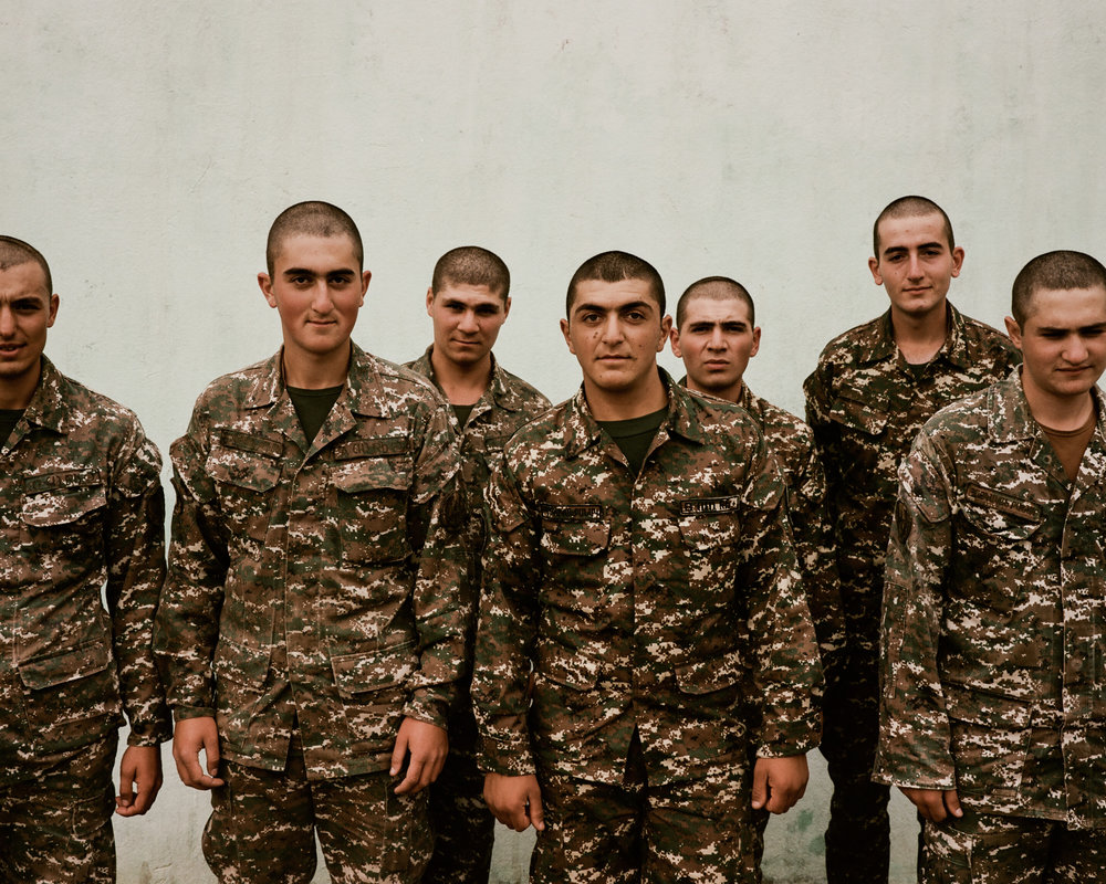 Conscript Soldiers in Nagorno Karabakh  November 2017