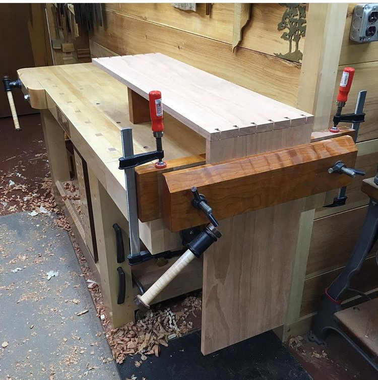 Moxon Vise built by Todd Nebel in Pennsylvania