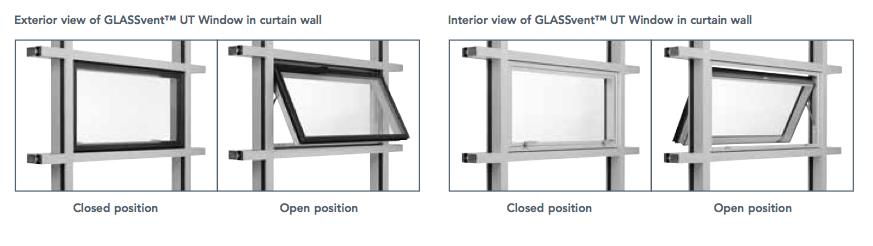 Kawneer Glass Vent Pgp