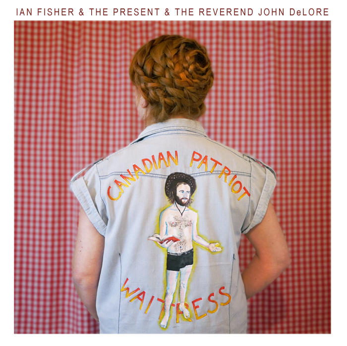 EP artwork collaboration with John DeLore for Ian Fisher, Ryan Carpenter, and John DeLore.