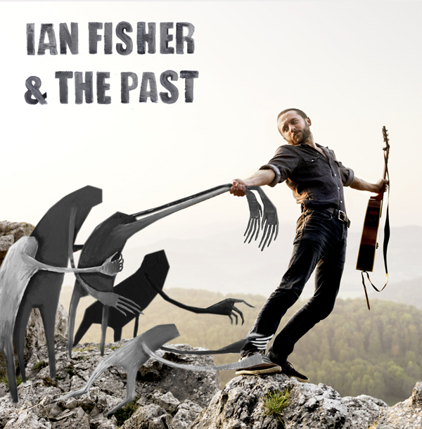 Album artwork collaboration with Andreas Jakwerth for Ian Fisher.