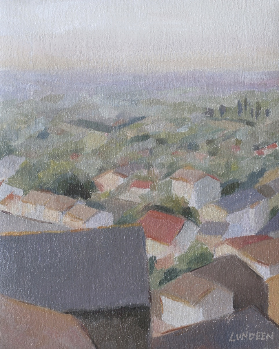"Sunrise Over Provence  - 8""x10"" - Oil on linen  -   Not for sale"