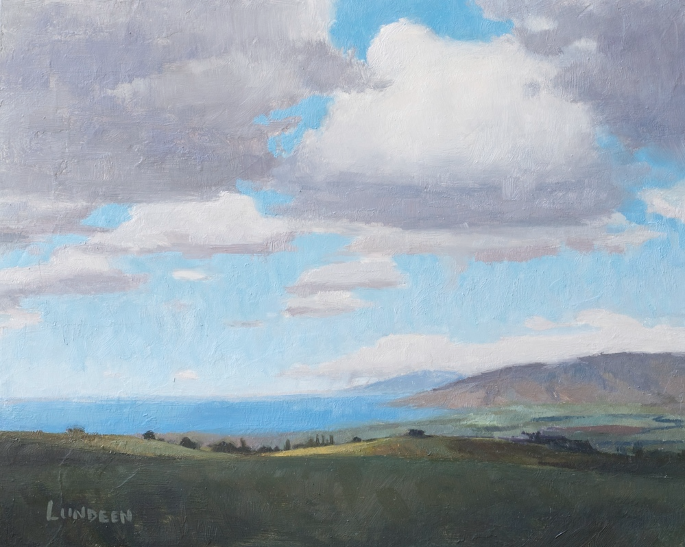 "Maui Outlook  - 8""x10"" - Oil on board -  SOLD"