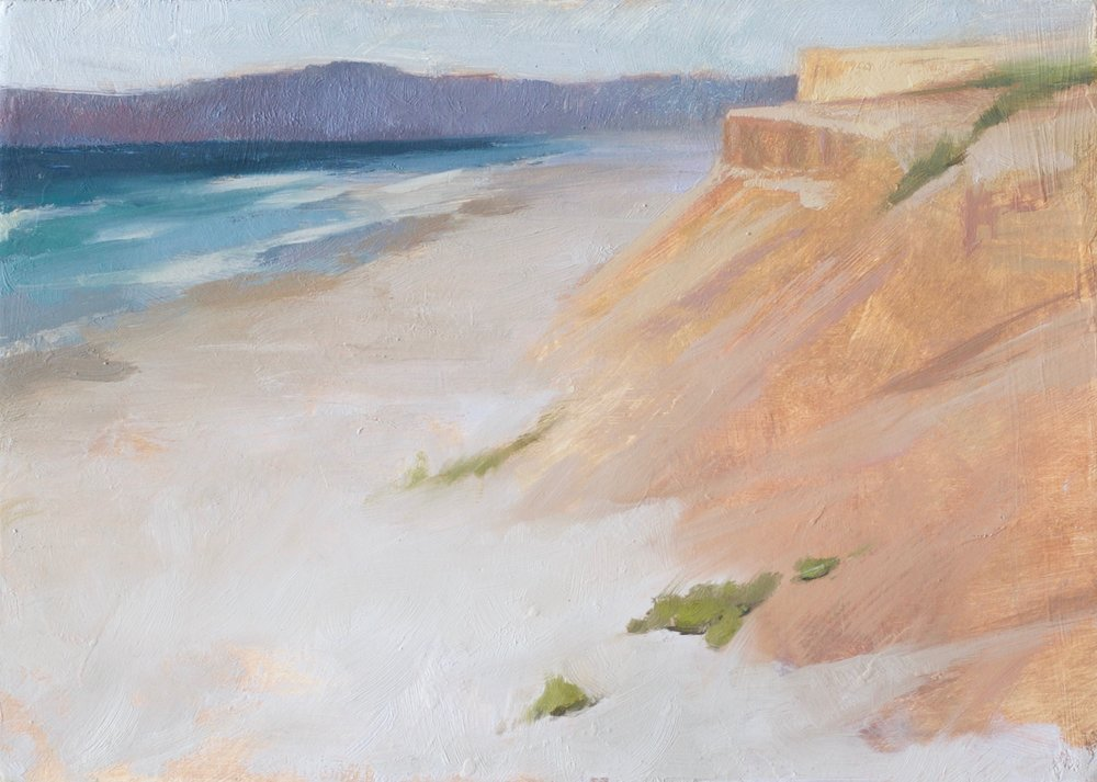 "Monterey  - 5""x7"" - oil on board"