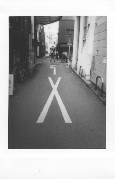 Kumamoto, made with a Fuji Instax Mini 90S
