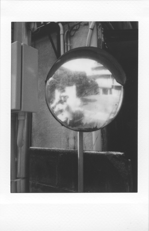 Self, Fukuoka , made with a Fuji Instax Mini 90S