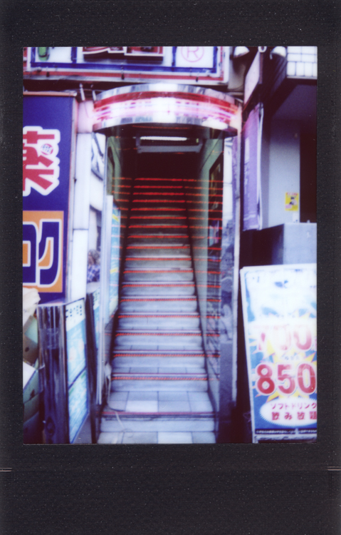 Akihabara , made with an Instax Mini 90S