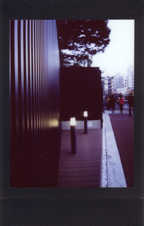 Meguro , made with an Instax Mini 90S