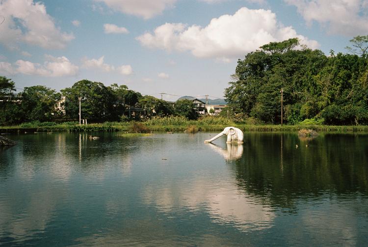 Water slide, Kumamoto