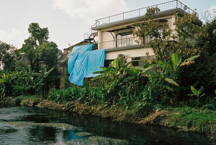 Damaged house, Kumamoto