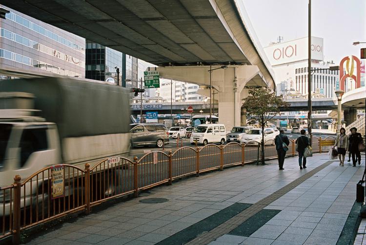 Ueno, somewhere near the station