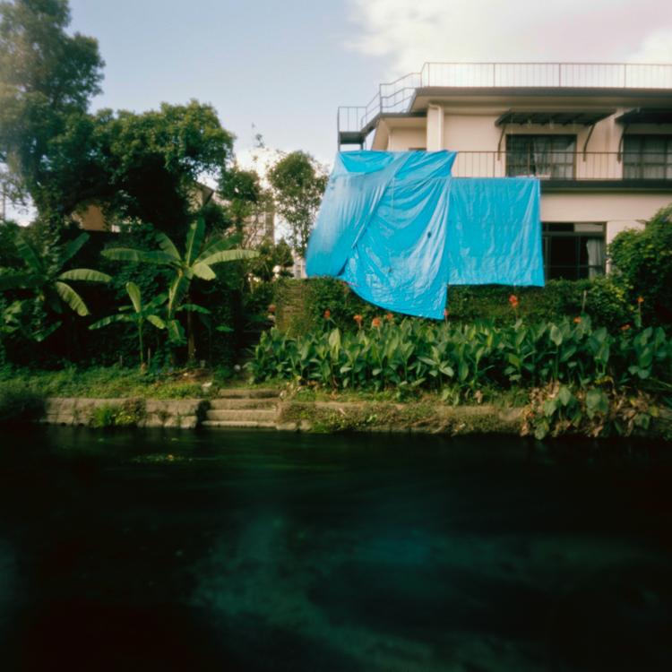 Damaged home, Kumamoto