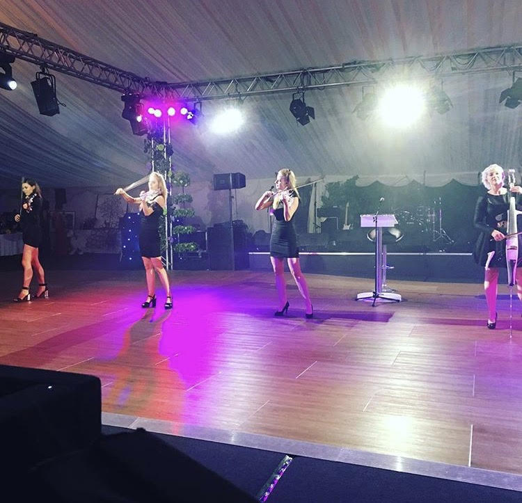 Providing an Electric String Quartet show in Norfolk