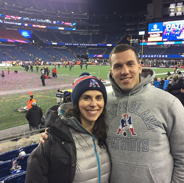 SUPERBOWL. Such an amazing game to experience! @danliepins