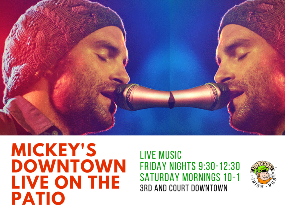 2016 Live Music Schedule at Mickey's Irish Pub Downtown Des Moines