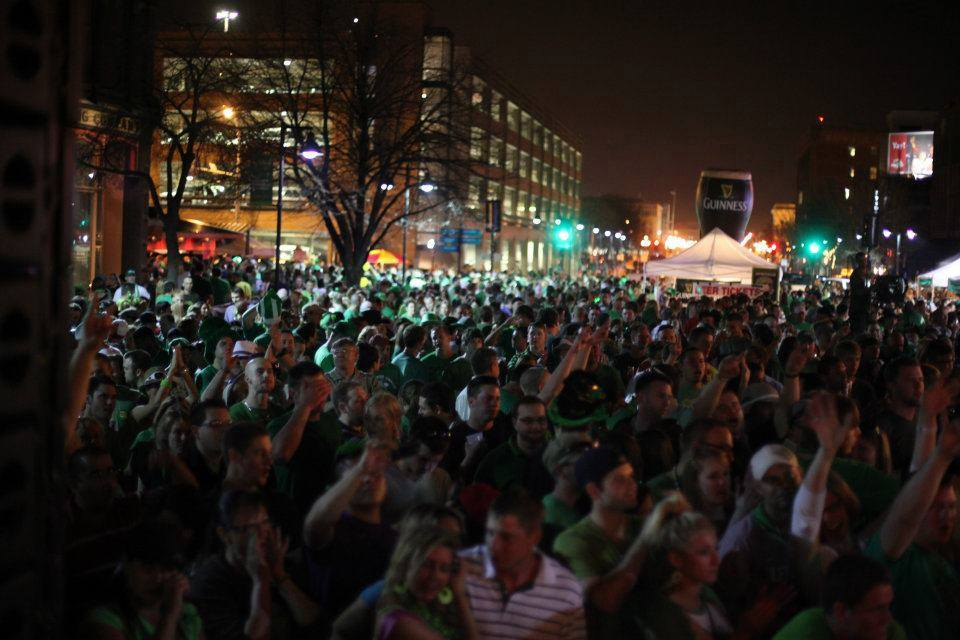 St. Patrick's Day in Des Moines