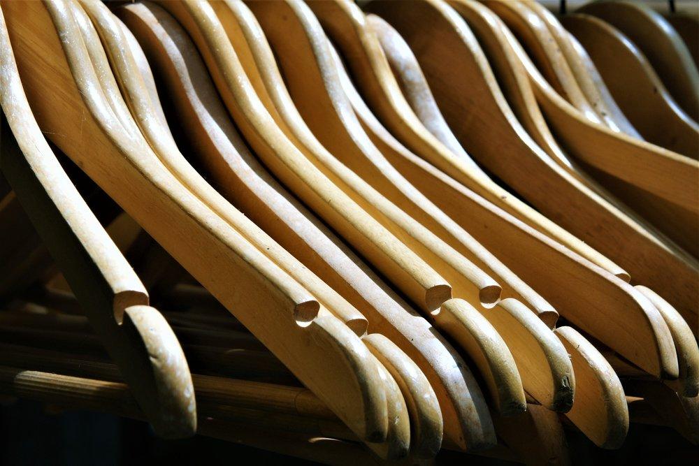 Coat Hangers, Fashion Retail, Styling, Personal Shopping, Whistles, Karen Millen,