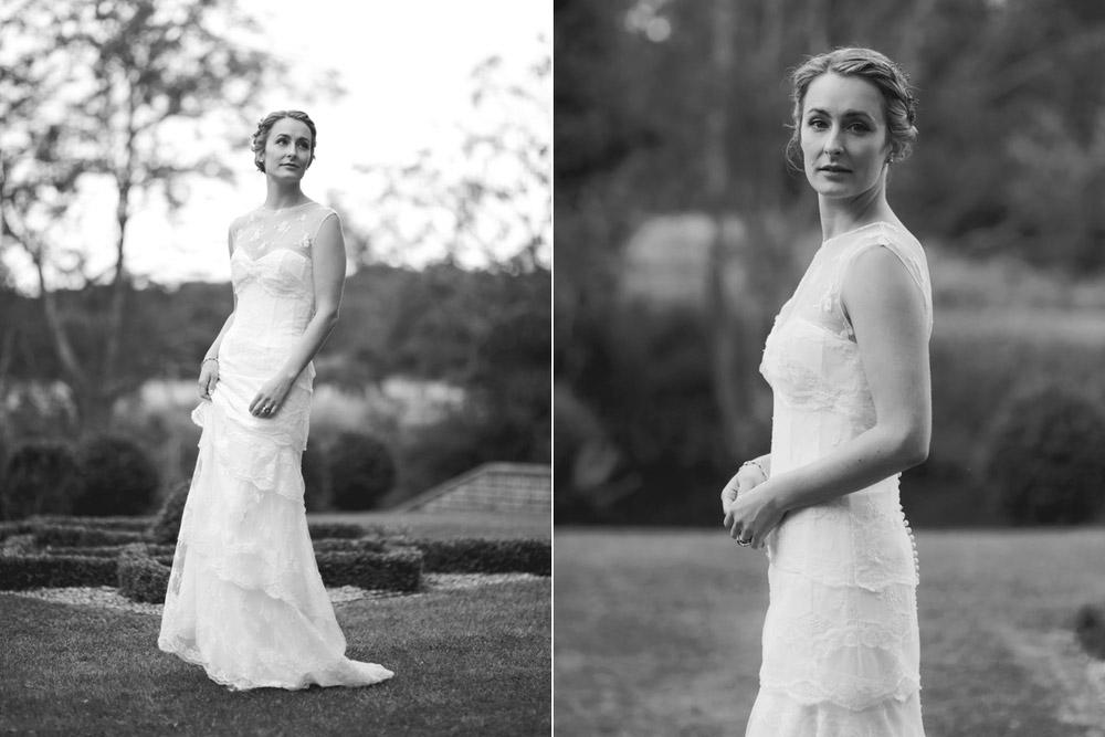 Bride portraits by Suffolk wedding Photographer