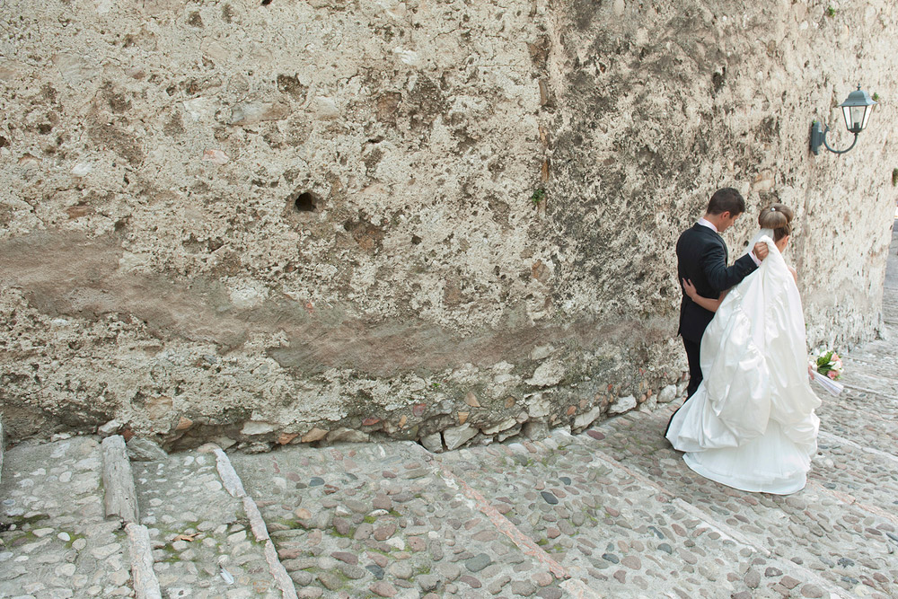 Destination wedding photographer Lake Garda Malcesine