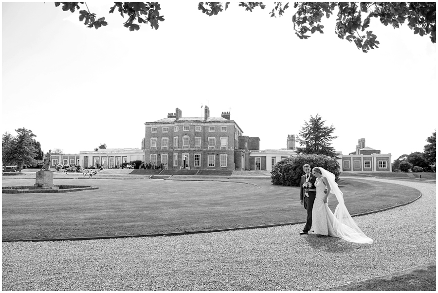 Wedding at Wolverstone Hall, Suffolk