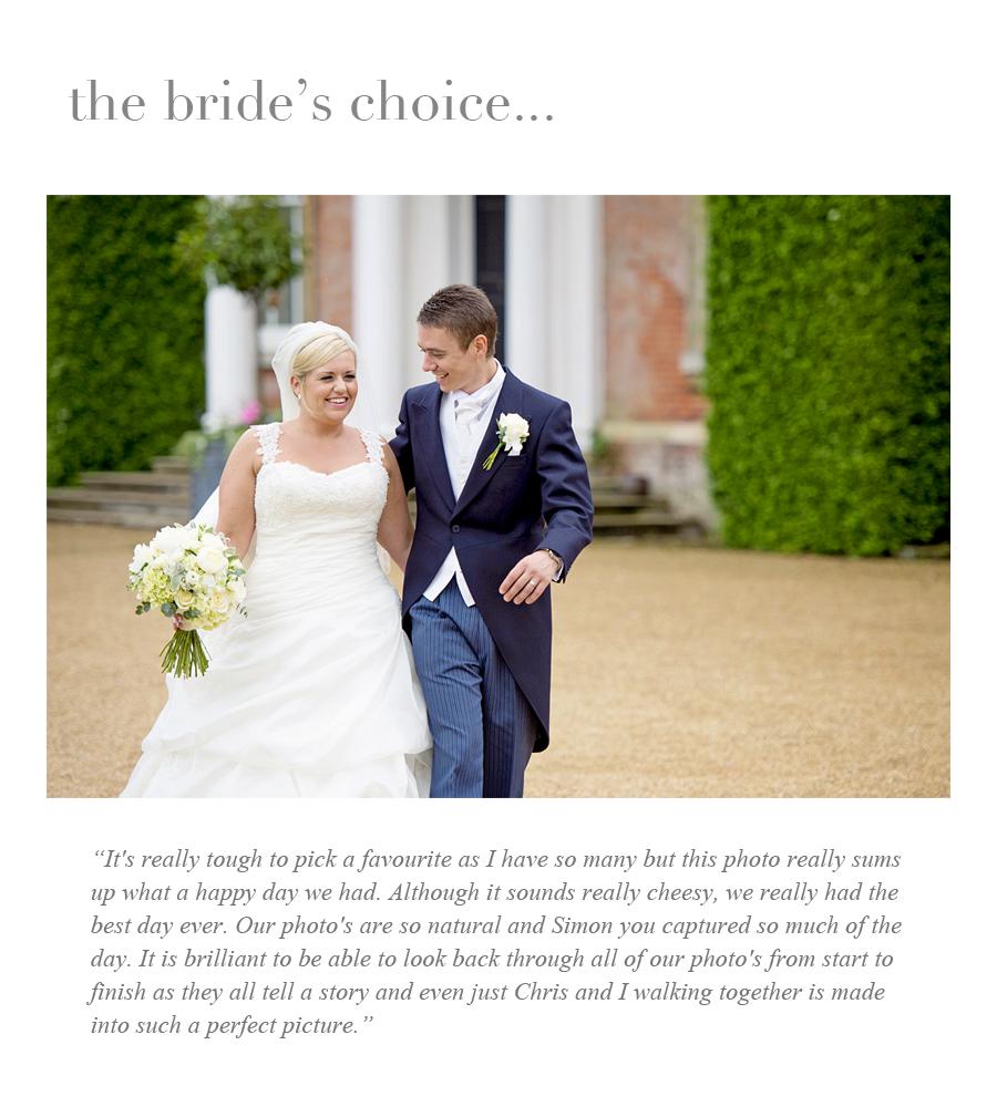 Brides choice Tori & Chris