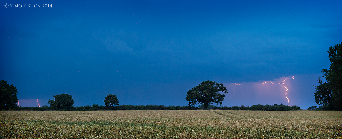 Lightning Storm Photography, Norfolk UK