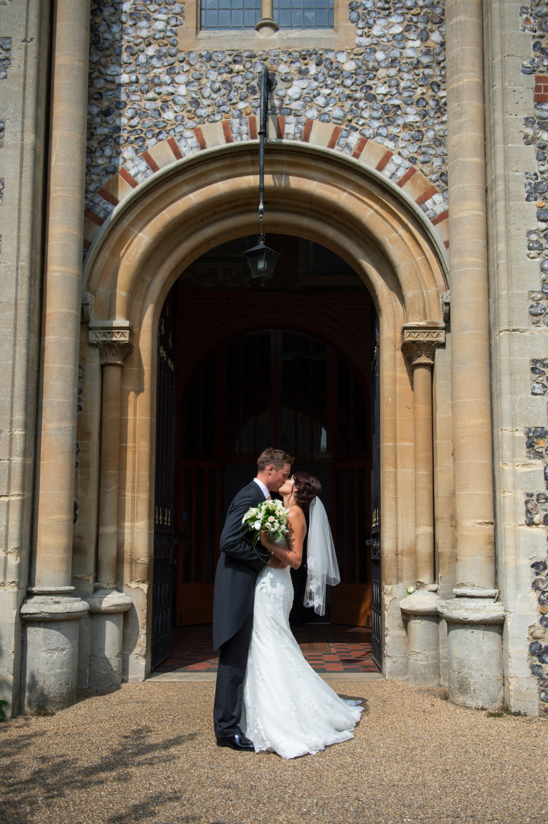 a wedding at St Andrews church in thorpe, norfolk