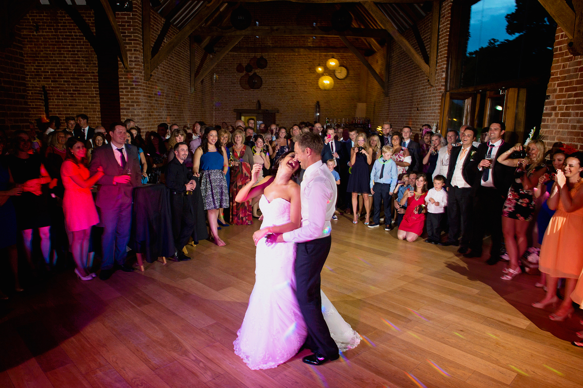 Wedding first dance at Southwood Hall