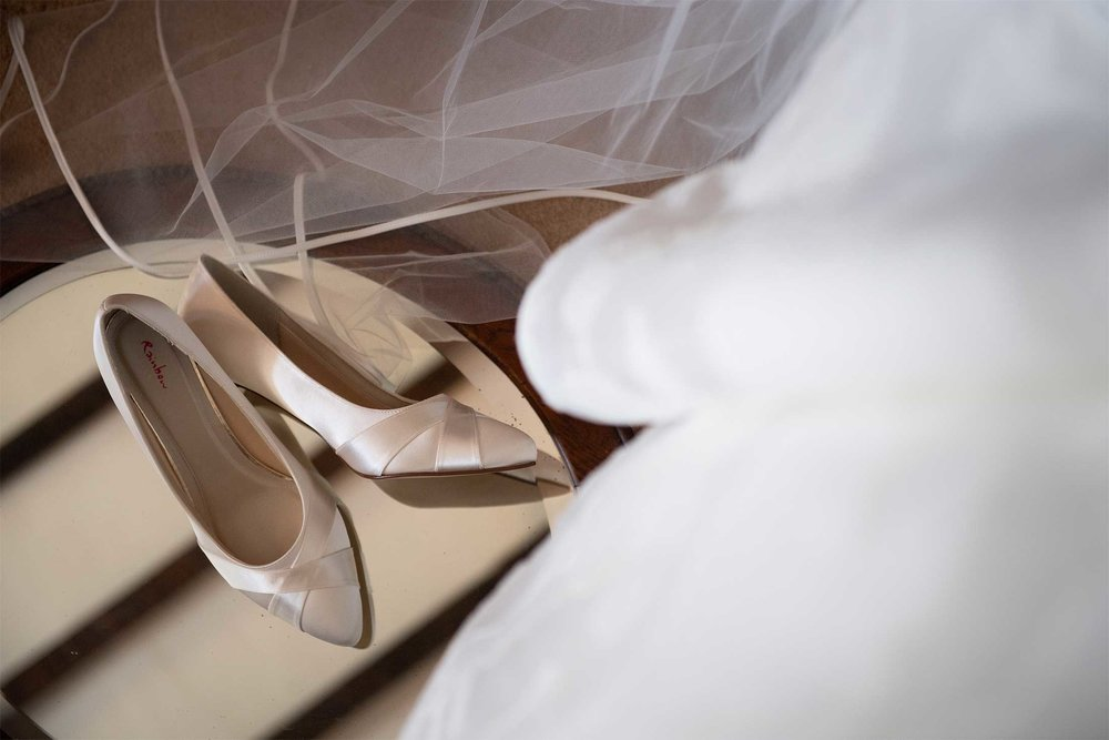 Wedding shoes norfolk photographer