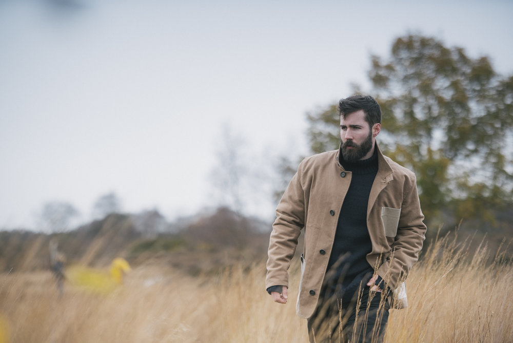 editorial fashion portrait photography for The Shackleton Co.
