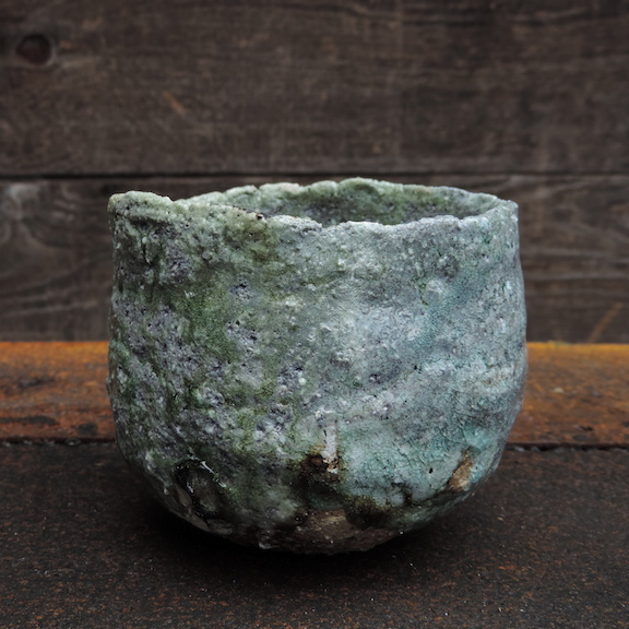 hikidashi tea bowl