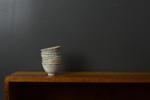'Sandstone + Moraine' Tea Cups Minnesota clays, sand & stones Electric Fired photo courtesy of Entoten