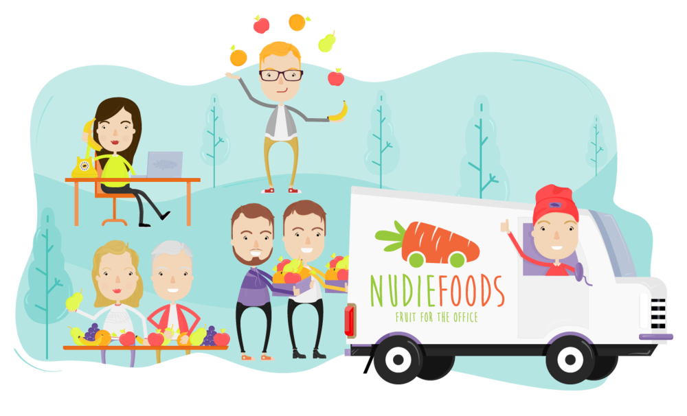 The NudieFoods Team