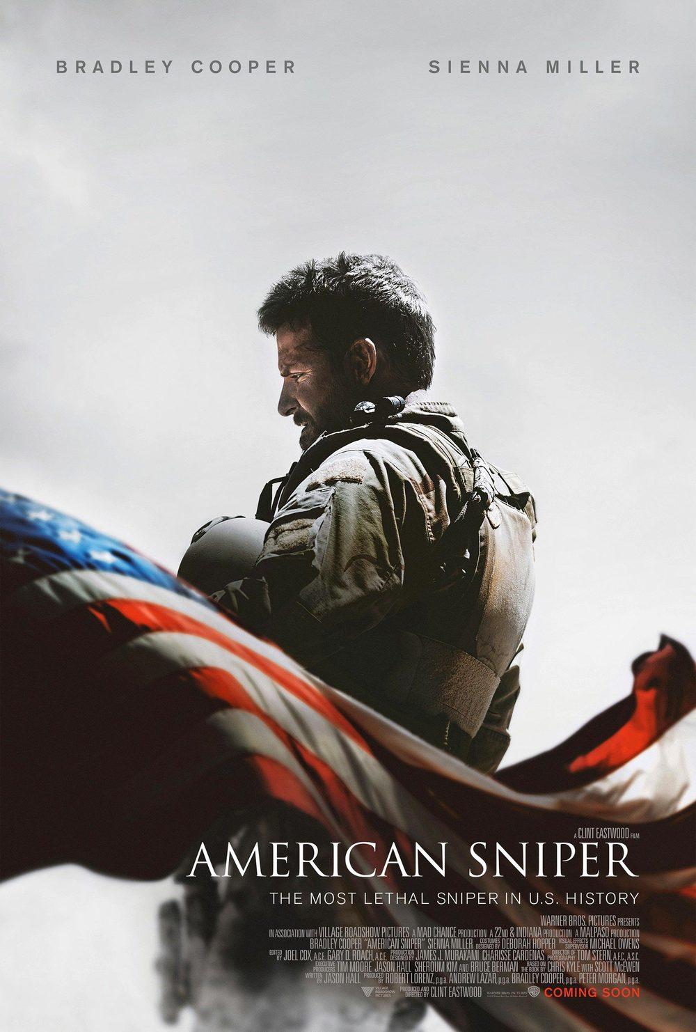 americansniper poster