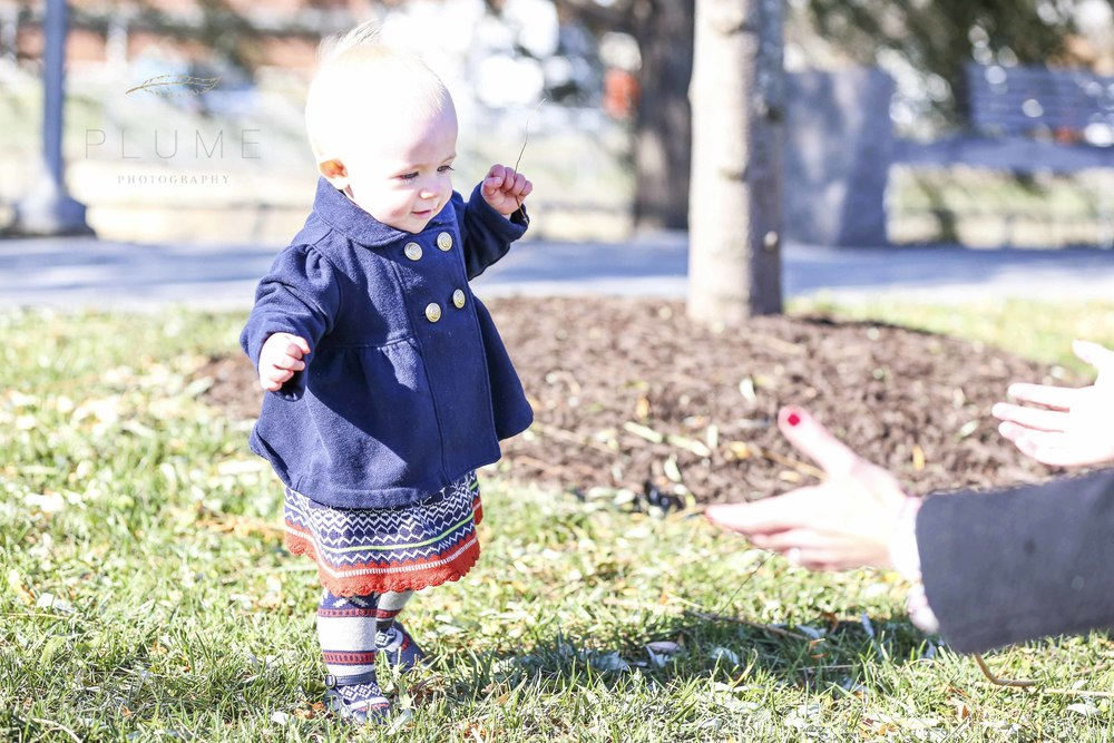 Libby, Peter and Winnie (11 mos) Henry family photos in Yards Park, SE Washington, DC, Saturday morning, November 22, 2014. Photo by Amanda Reynolds