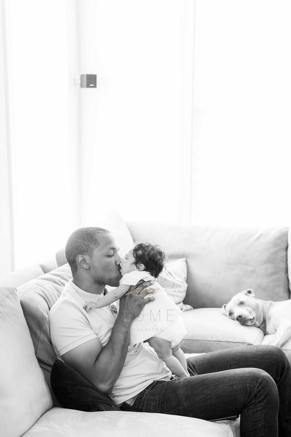 family and newborn photo session in Arlington, VA; Jabril, Laura, Leif and Logan, Thursday, July 30, 2015. Photo by Amanda Reynolds, Plume Photography