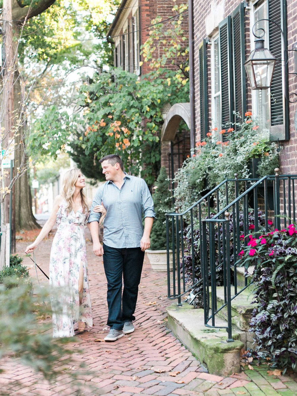 Old Town Alexandria Engagement Session by Washington DC Wedding Photographer Amanda Reynolds Plume Photography