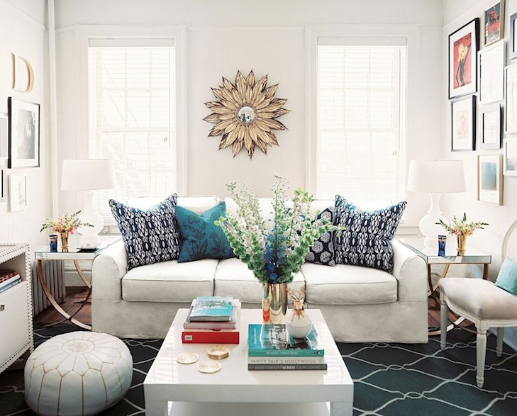 If Your Living Area Is In Direct Sunlight You Are Best Off Painting It With More Saturated Colors The Natural Brightness Of The Sun Can Have A Dulling