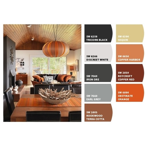Interior design living family room design concepts to for Warm color palette for living room